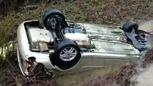 A 12-year-old girl and her mother were rescued from a creek near Highway 49, the Placer County Sheriff's Office said. Jan. 7, 2017