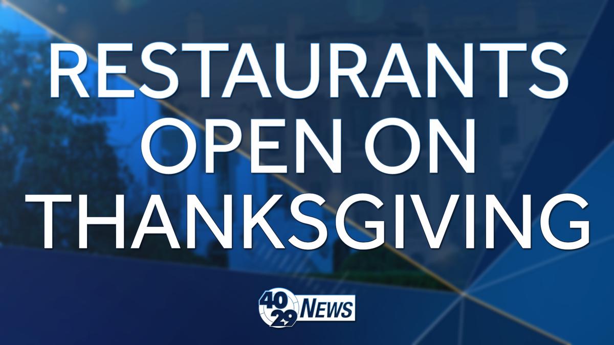 Restaurants Open In Thanksgiving 100 Images 33