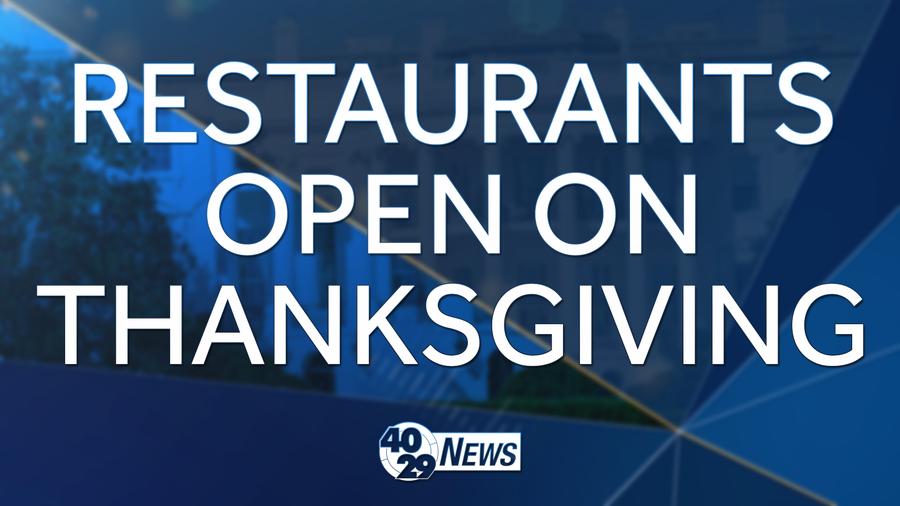 Restaurants Open On Thanksgiving  Arkansas