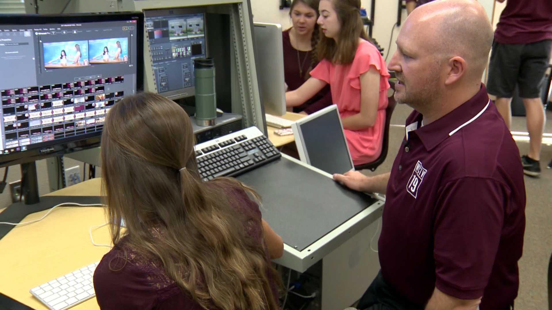 Rocklin High School newscast