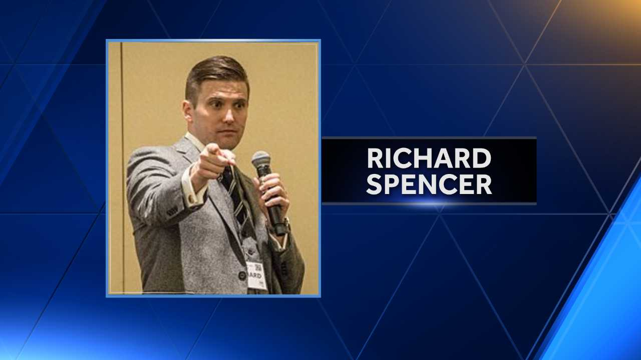 White nationalist, backed by court order, appears at Auburn
