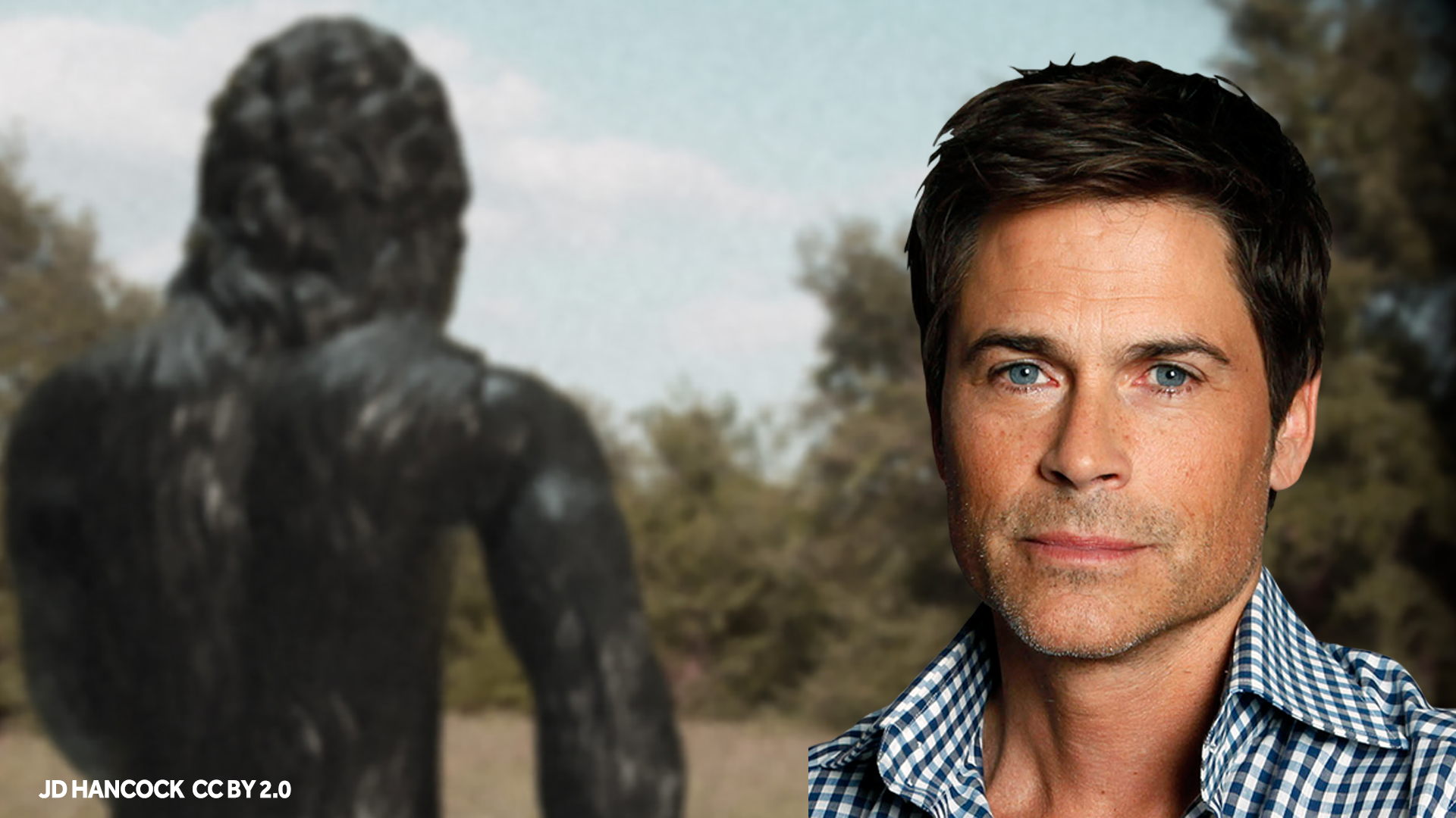 Bigfoot and Rob Lowe