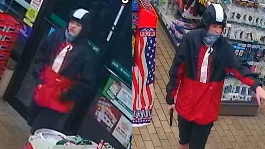 Olathe armed robbery suspect