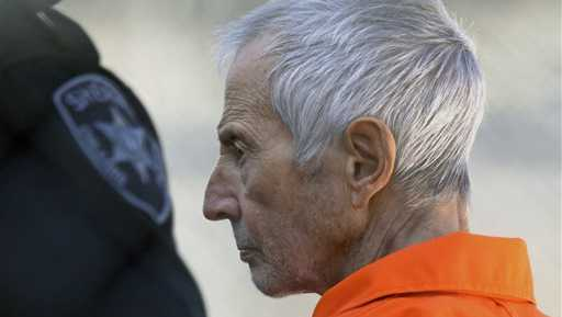 Robert Durst at Orleans Parish Prison in 2015
