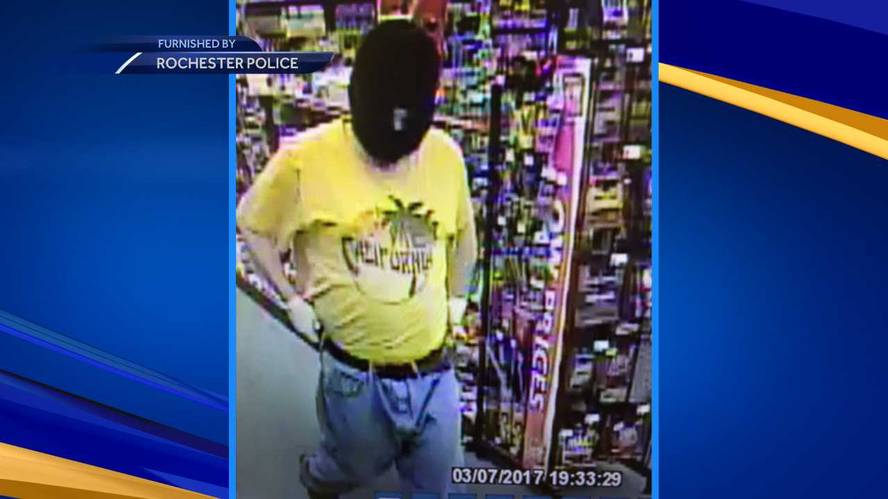 Rochester armed robbery suspect sought