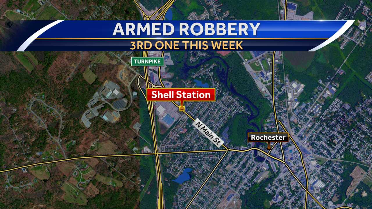 Armed robber strikes Rochester gas station