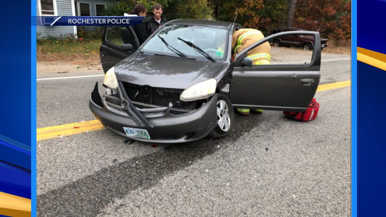 Woman transported to hospital following 2-car crash in Rochester