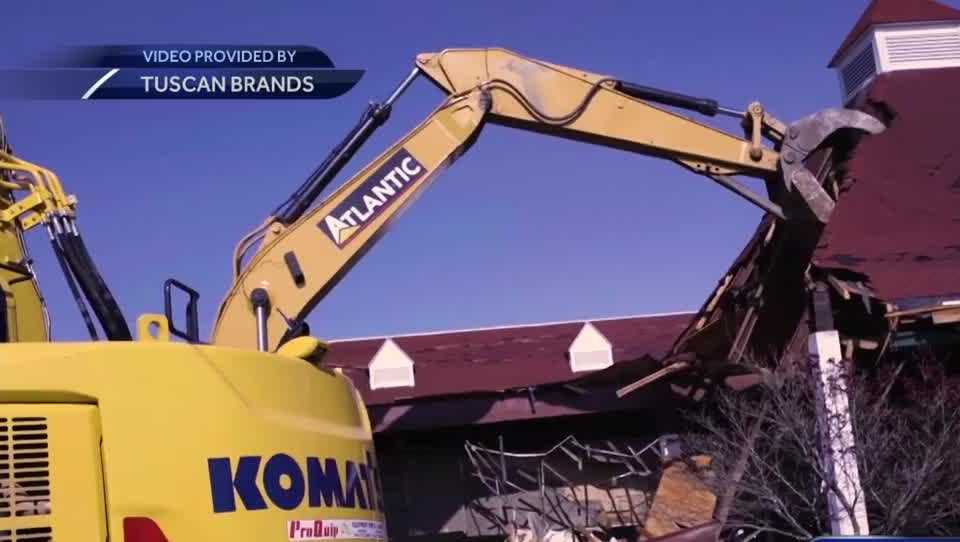 Rockingham Park demolition