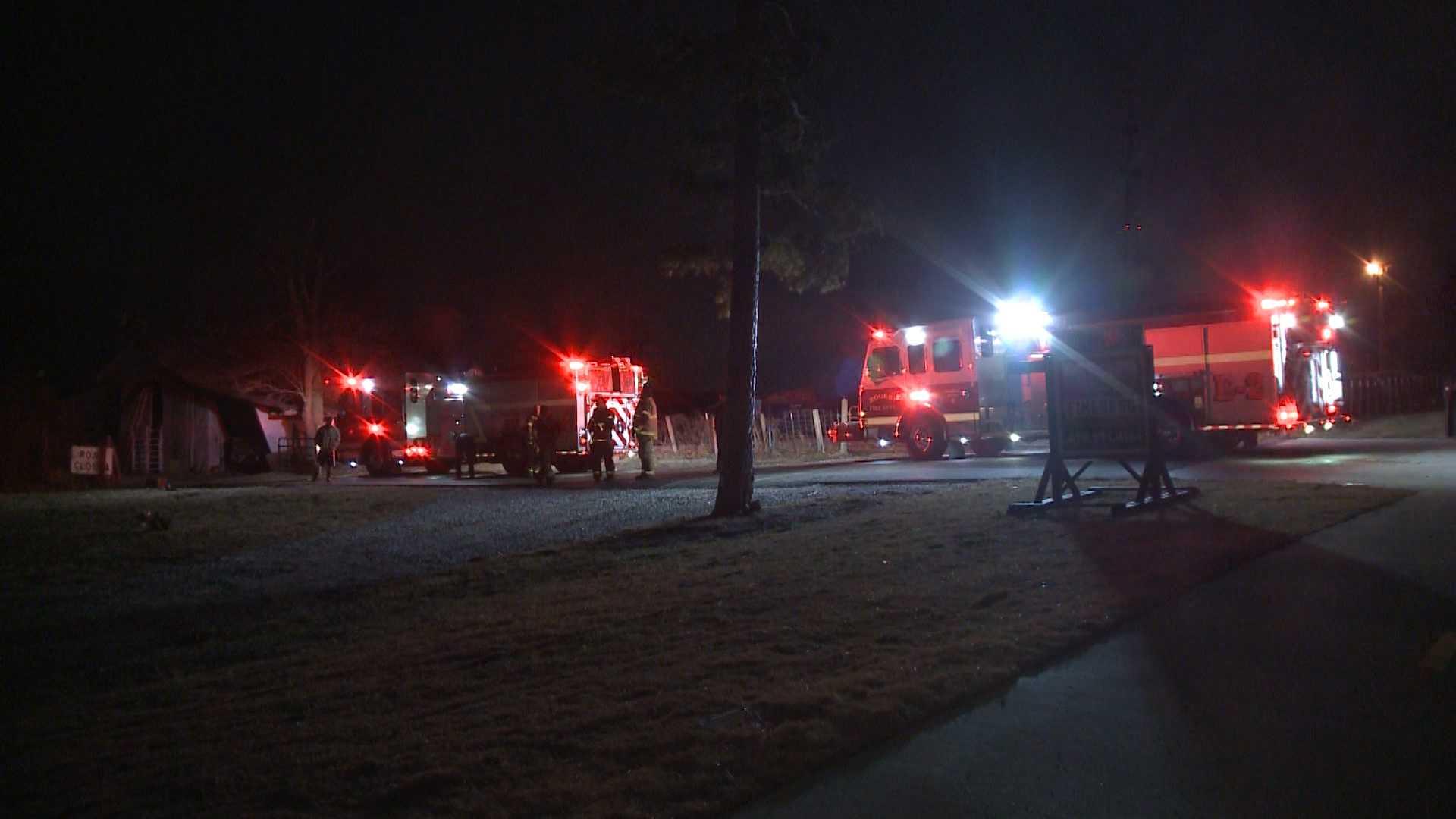 Fire in Rogers