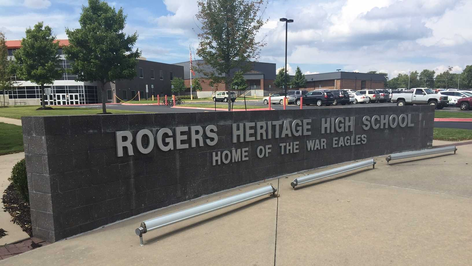 File image of Rogers Heritage HS