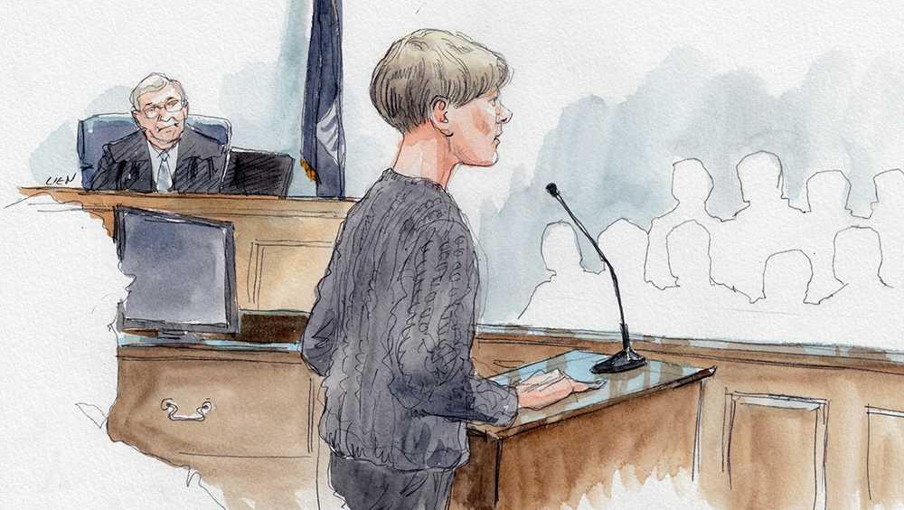 Dylann Roof addresses jury