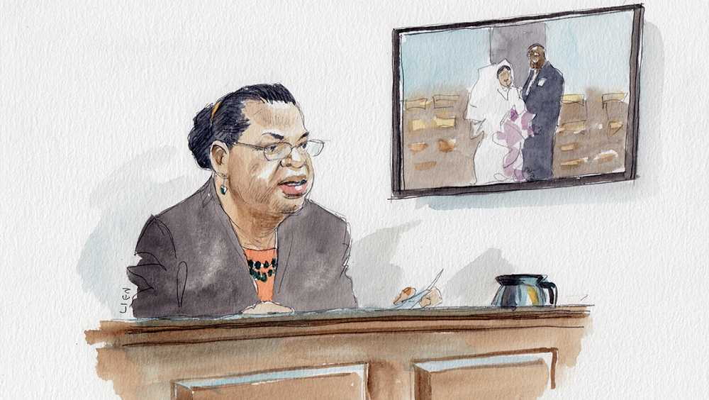Jennifer Pinckney testifies at Dylann Roof trial