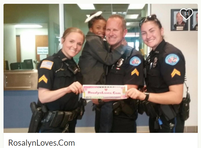 Mission: hug police officers in all 50 states
