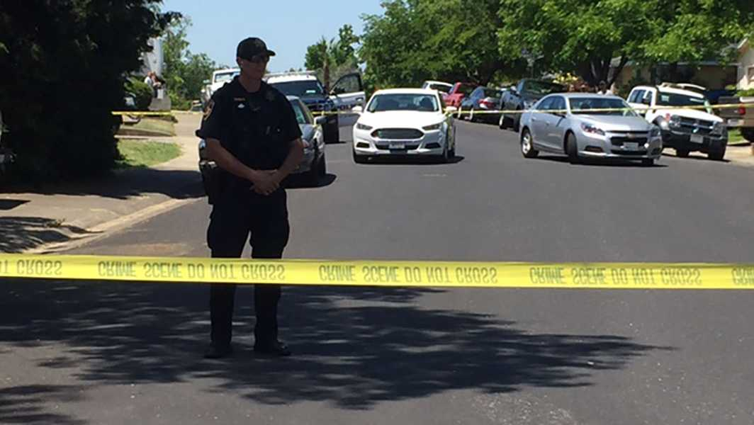 Roseville police officers are investigating after a body was found in a vehicle's trunk Monday morning.