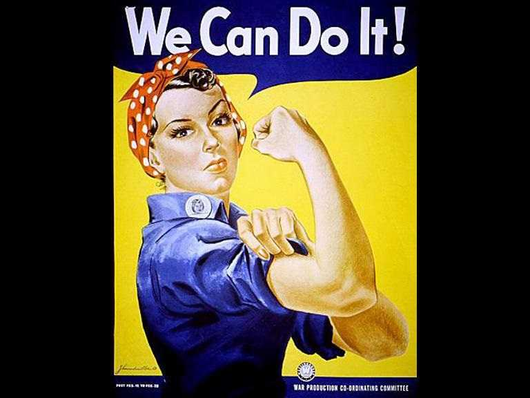 The Real 'Rosie The Riveter' Has Died At 96