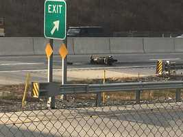 Route 30 motorcycle fire