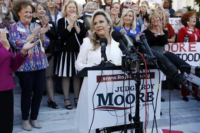 Kayla Moore: 'One of our attorneys is a Jew'