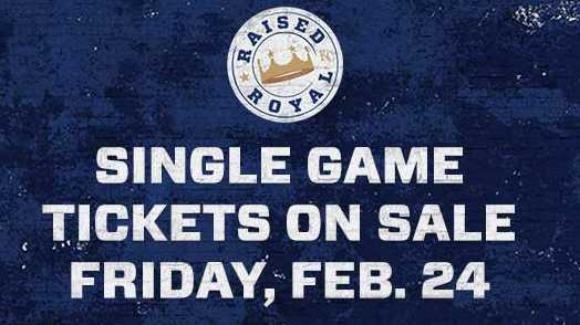Kansas City Royals tickets on sale Friday