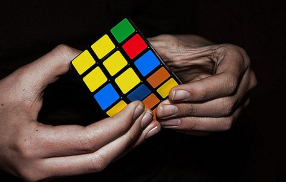 University of Michigan unveils 1500-pound Rubik's Cube