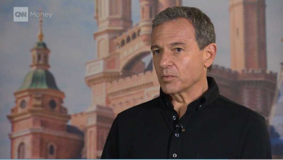 Walt Disney Company CEO Bob Iger speaks to CNN.