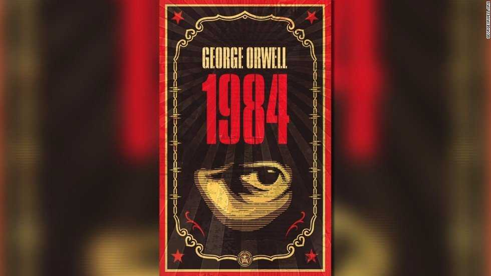 "2017 has been ""doubleplusgood"" for sales of George Orwell's ""1984.""The famed dystopian novel of life in a totalitarian state sat at No. 6 on Amazon's bestseller list Tuesday morning."