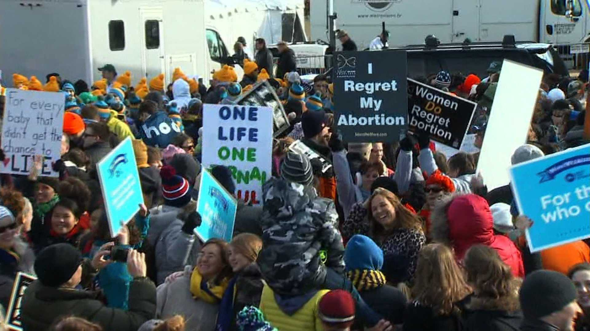 """The March for Life began in Washington, DC, as a small demonstration and rapidly grew to be the largest pro-life event in the world,"" according to the march's website."
