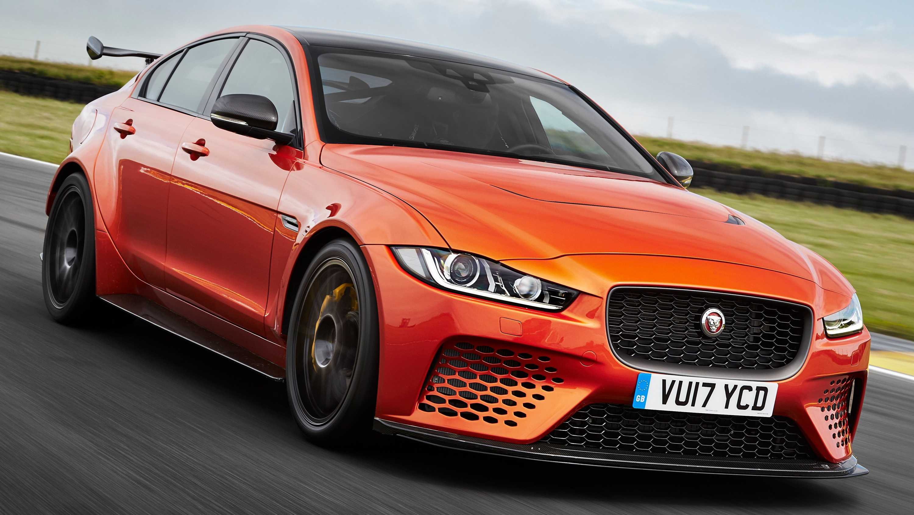 Jaguar will only make 300 of the new 592-horsepower Jaguar XE SV Project 8, which can go from zero-to-60 miles an hour in just 3.3 seconds.
