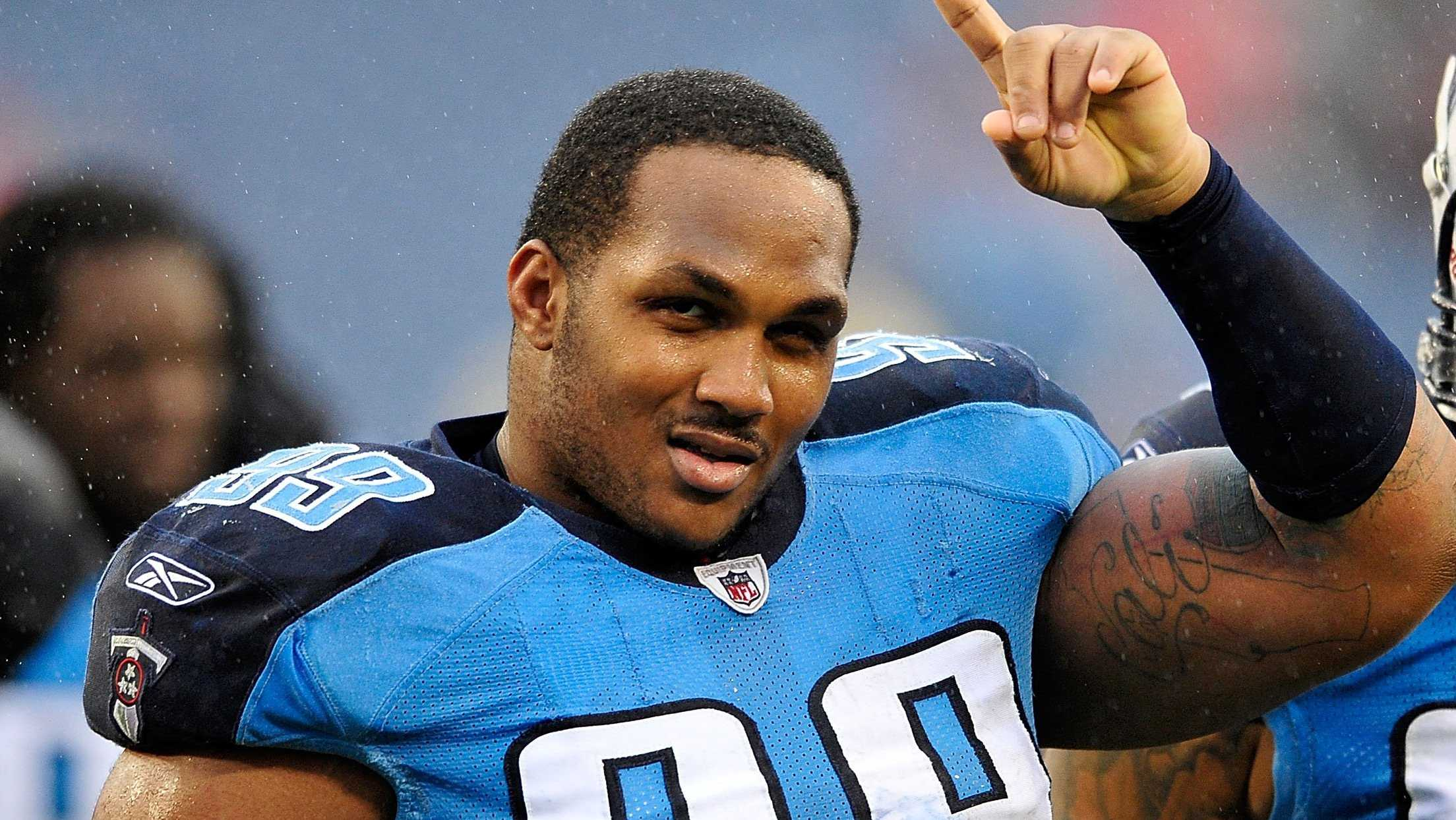 Tennessee Titans defensive tackle Jurrell Casey