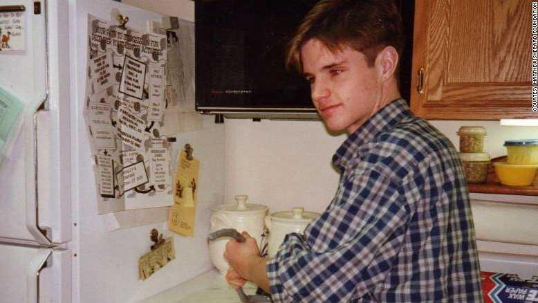 Matthew Shepard, in an undated family photo.