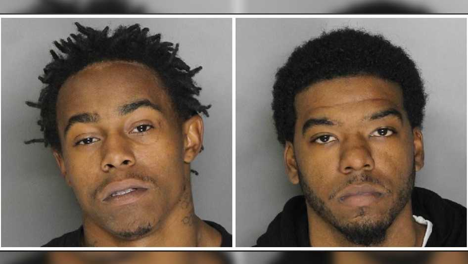 Kaleb Starks, 23, (left) and Mykhel Lee, 22, (right) were arrested on Tuesday, Dec. 6, 2016, in connection to 11 armed robberies, the Sacramento County Sheriff's Department.