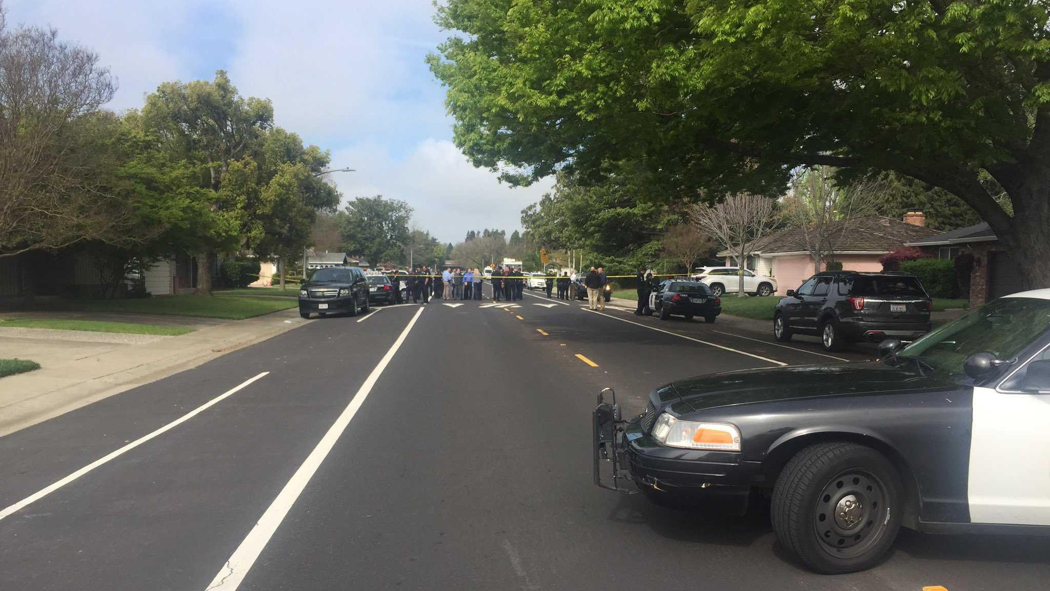 Suspect held in San Francisco after four bodies found in Sacramento home