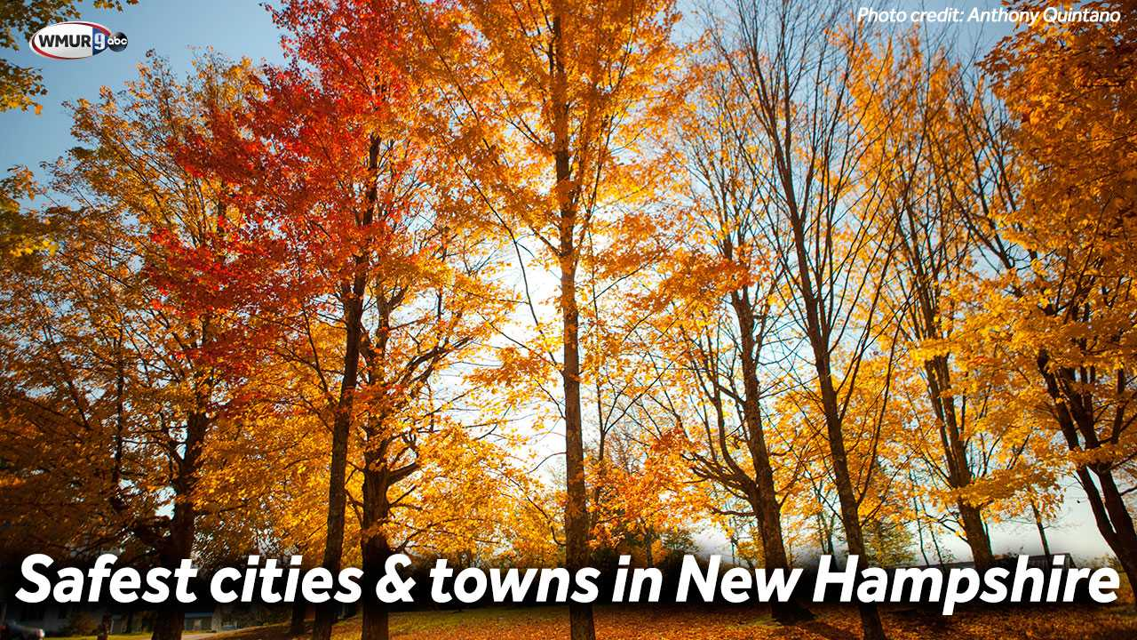 Safest cities and towns in New Hampshire