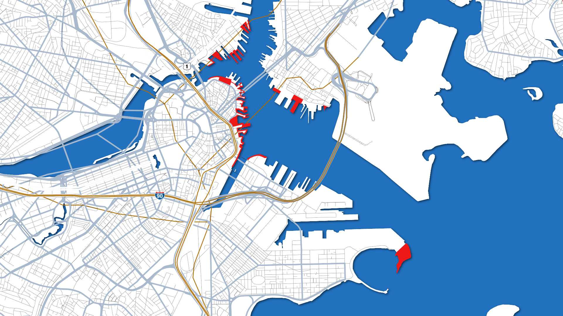 Which Ships Do You Want To See Sail Boston Berthing Maps Released - Map of boston in usa