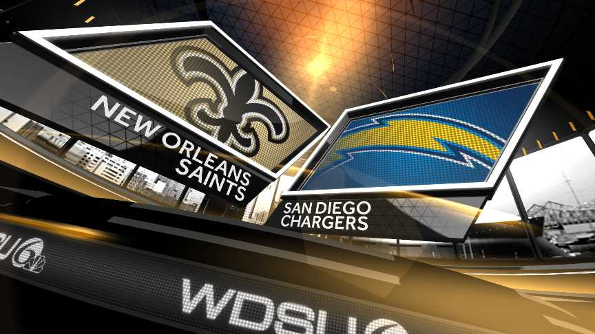 Saints vs Chargers