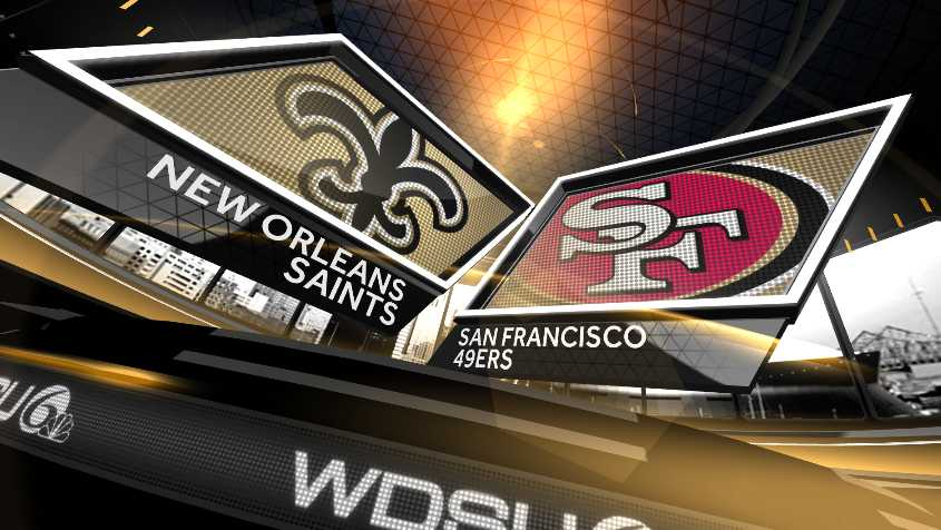 Saints vs 49ers