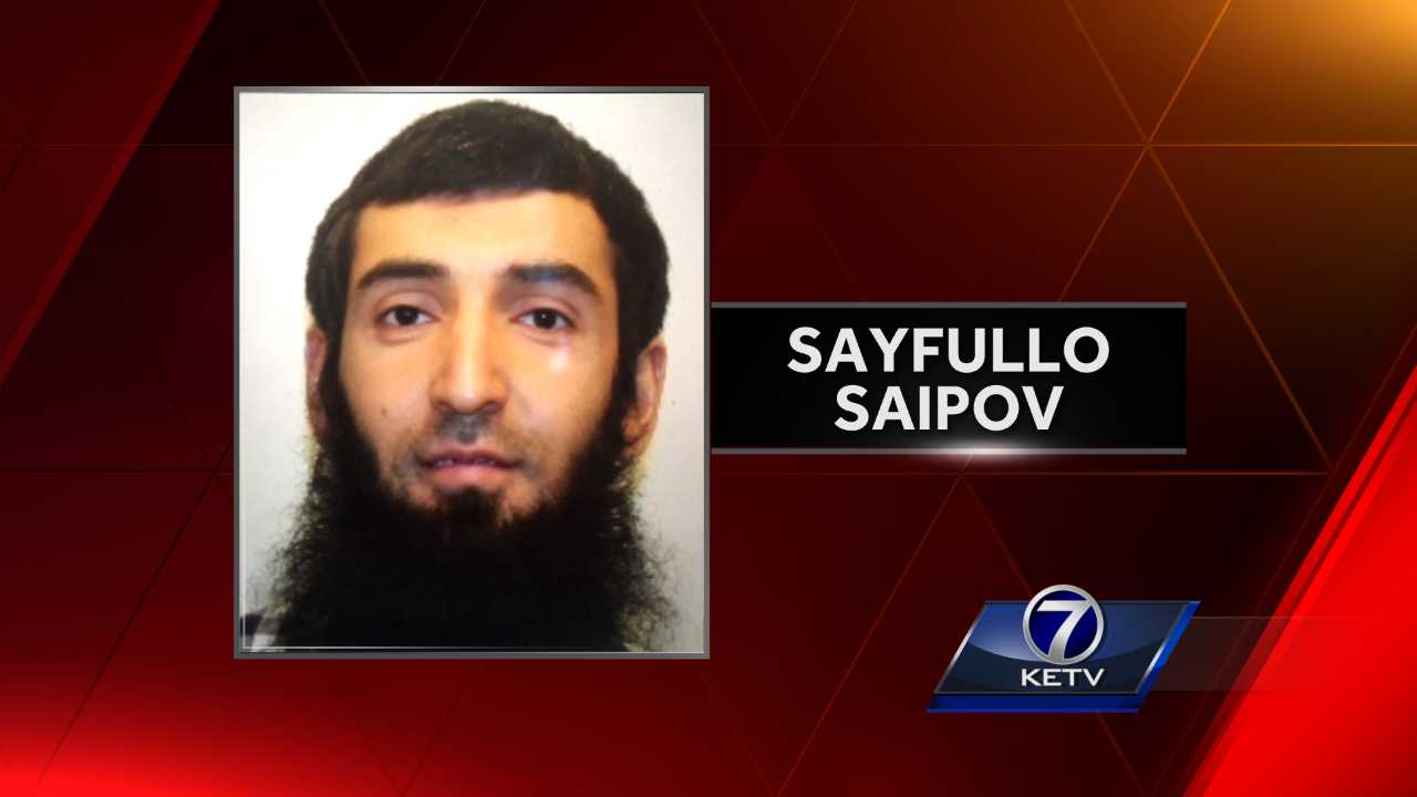 NYC terror attack suspect had been ticketed in Nebraska