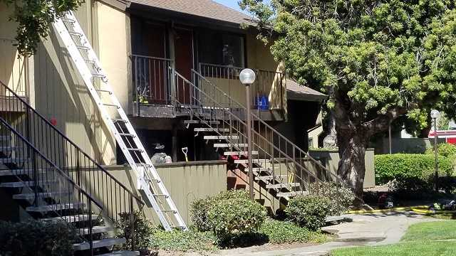 Salinas apartment fire
