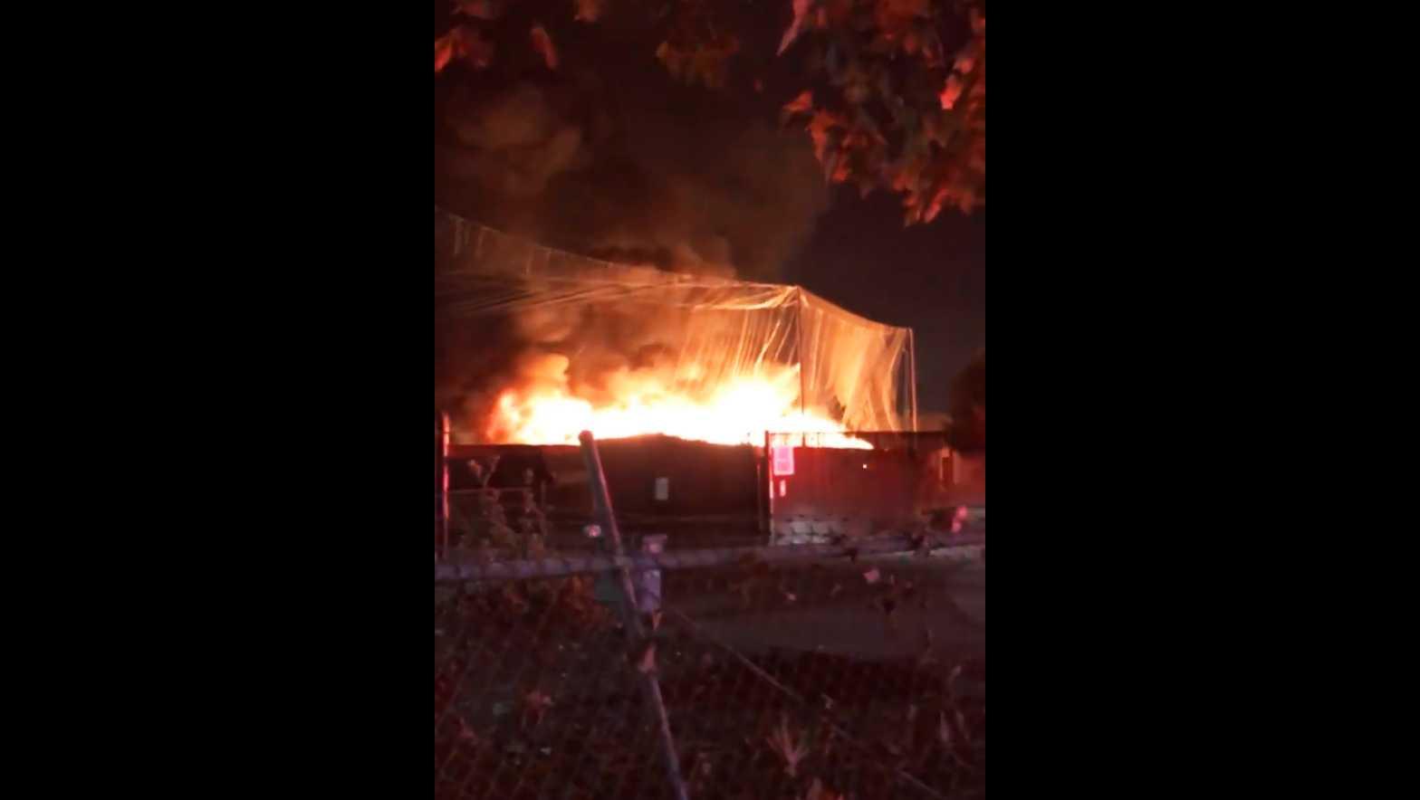 Salinas fire