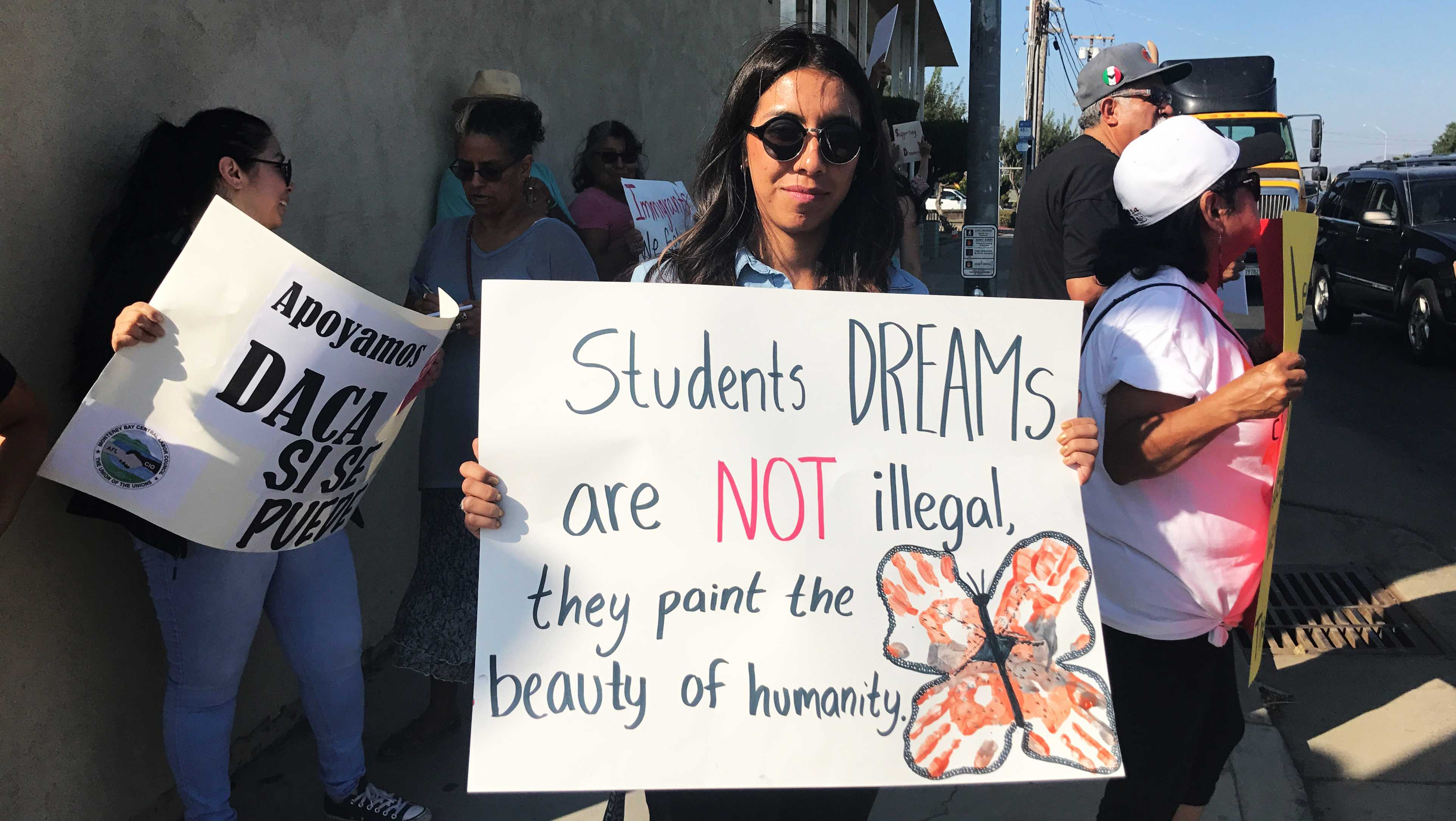 DACA protest in Salinas