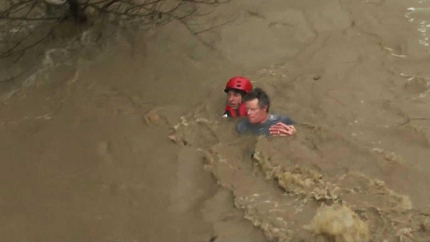 Salinas River rescue