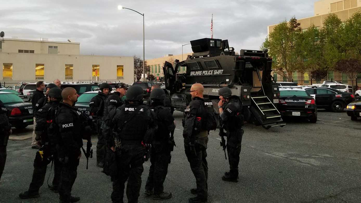 Salinas SWAT team