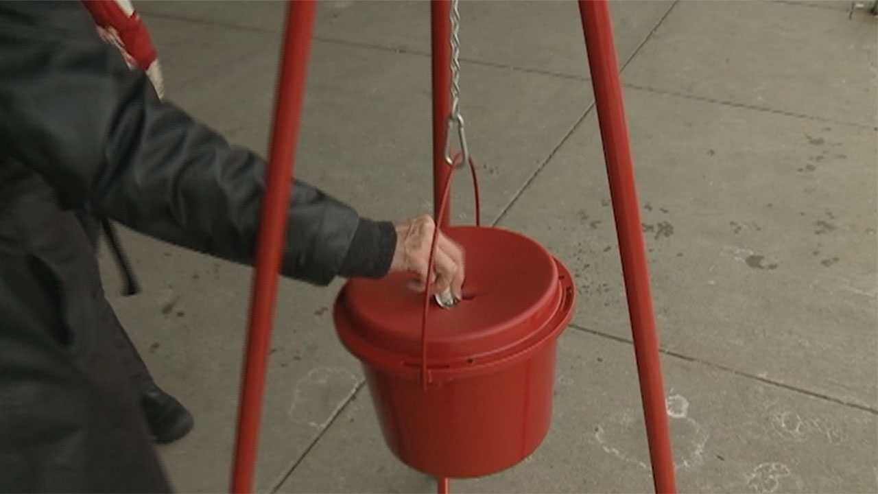 Mystery donor again drops gold pesos into Salvation Army's Red Kettle