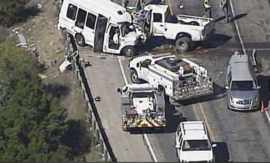 U.S. crash involving church minibus leaves 13 dead