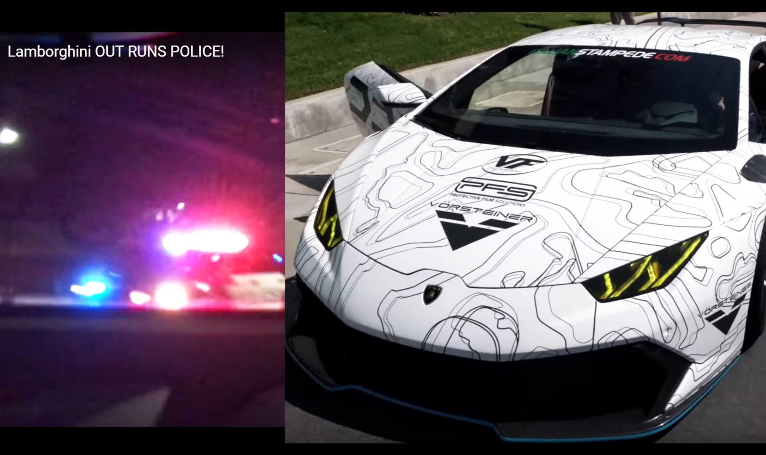 Lamborghini 'chase' posted on YouTube prompts backlash