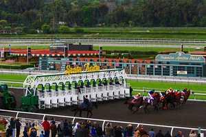 Santa Anita Park horse racing course