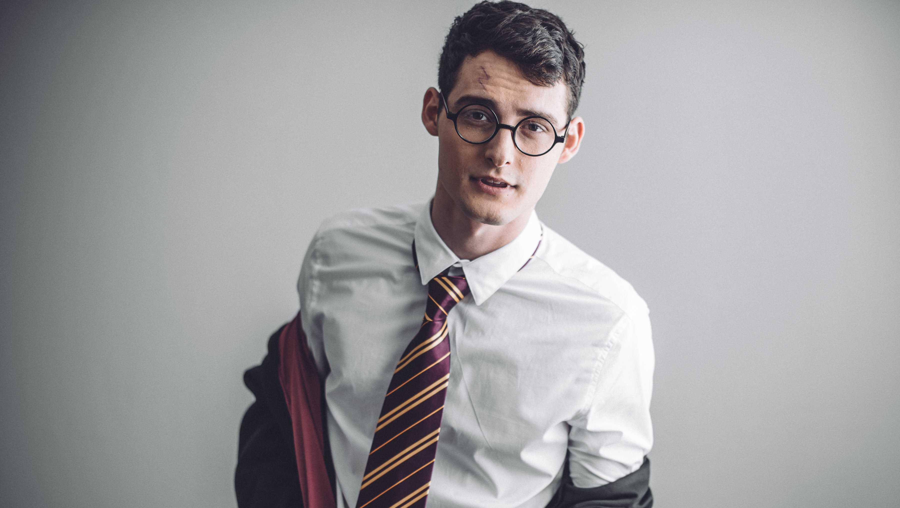 Harry Potter photoshoot