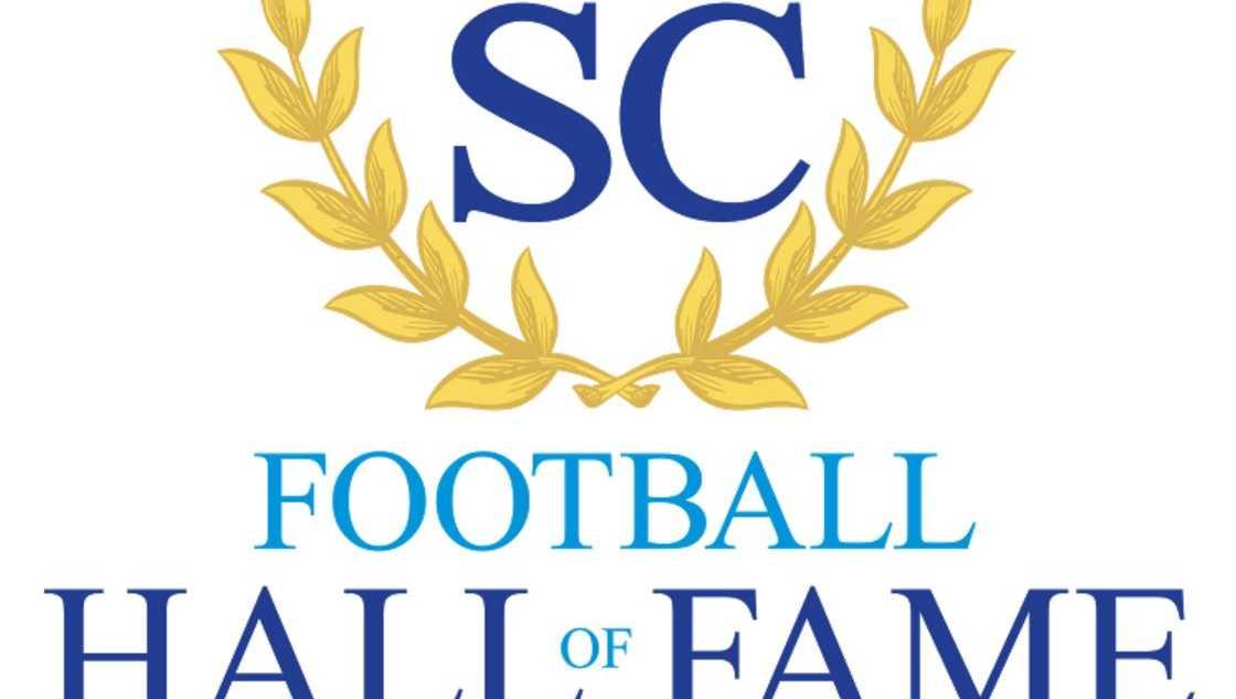 SC Football Hall of Fame Logo