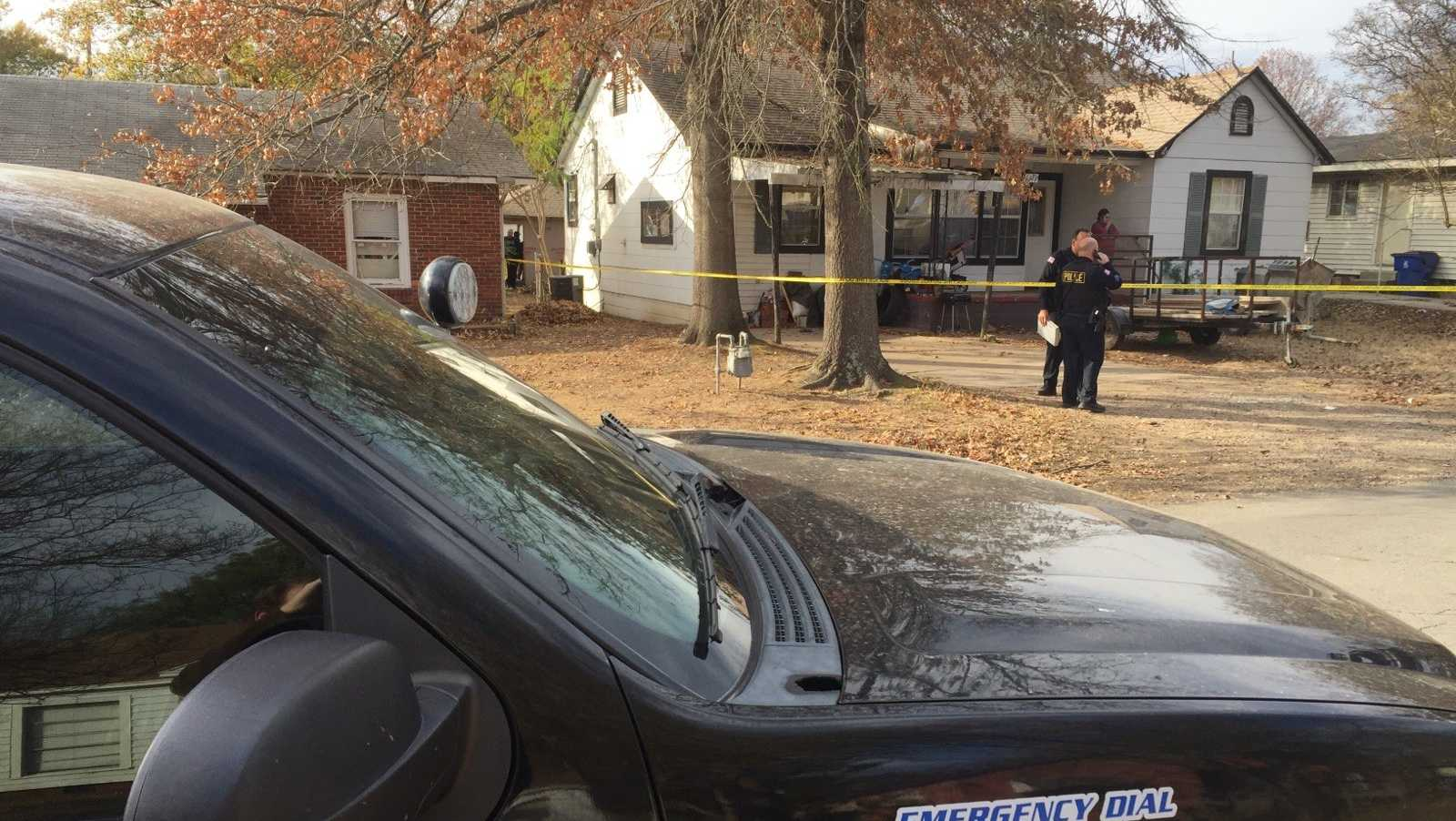 Fort Smith shooting scene