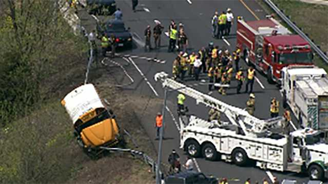 Frederick County school bus crash