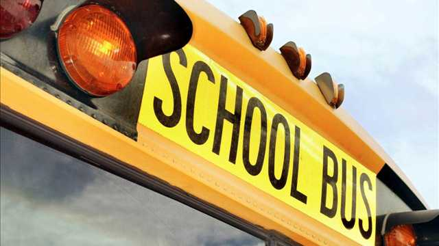 Man barges onto California school bus, holds knife to driver's head